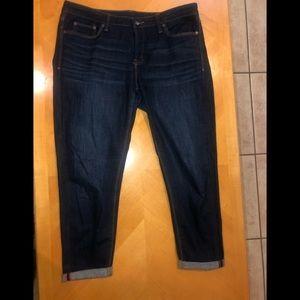 Skinny Ankle Denim Jeans